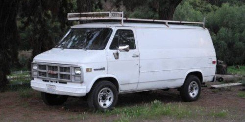 GMC Vandura Types Cargo Passenger Box Conversion Camper